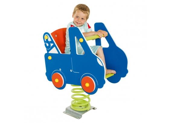 KBT Pružinová hojdačka -  Auto