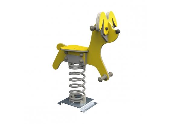 KBT Pružinová hojdačka - Dog (kotvenie do zeme)