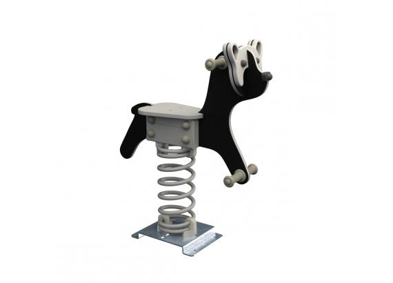 KBT Pružinová hojdačka - Panda (kotvenie do zeme)