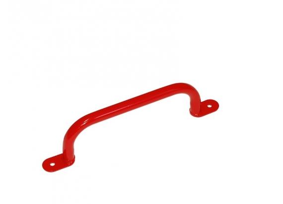 Madlo kovové, 350 mm,  červená