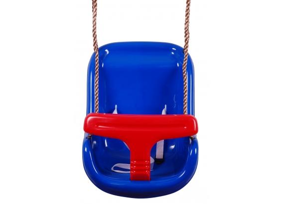 JF Hojdačka - BABY swing modrá/červená - 1