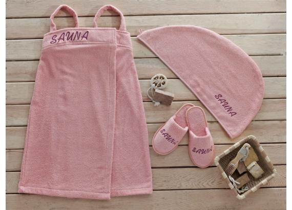 Dámsky set do sauny - Ružový