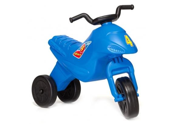 Odrážadlo - motorka 4 sport modrá