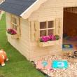 Drevený detský domček TOM