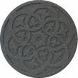 MH Gumový nášľap - ornament, šedá