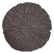 Gumový nášľap - kmeň 45 cm, hnedá