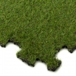 Gumová podložka puzzle - tráva 40x40 cm
