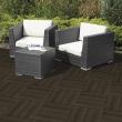 Gumová terasová dlažba - Cosmop. 45x45 cm, HN