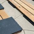 Gumová podložka pod terasové dosky