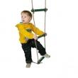 Plastový lanový rebrík  5 priečkový - ružový