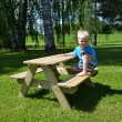 Sedenie pre deti LISBET - green