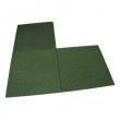 pryžová podložka 100x100x30 mm zelená
