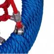 Hojdacie hniezdo STORK NEST 120 cm blue/red