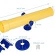 JF Teleskop - žlto/modrý
