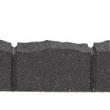 MH Gumový obrubník Roman Stone 120 cm,  hnedá