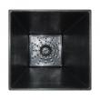 Gumový kvetináč Sonata 70 - šedá