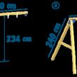 Swing modul - rozmery