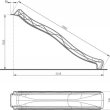 KBT šmýkačka 3,0 m TSURI - červená