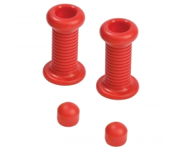 KBT Handgrip for spring toy - red