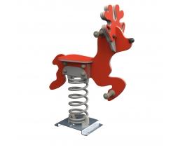 KBT Pružinová hojdačka - Deer (kotvenie do zeme)