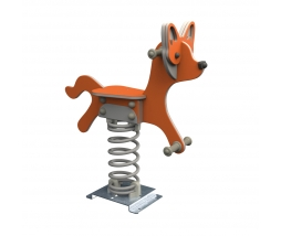 KBT Pružinová hojdačka - Fox (kotvenie do zeme)
