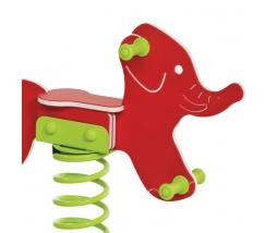 KBT Pružinová hojdačka - slon (kotvenie do zeme) - 1