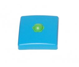 Plastic pole cover 100 mm modrá