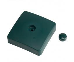 Plastová krytka na hranol KBT 100 mm - červená