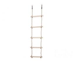 JF Drevený lanový rebrík  5 priečkový, PP