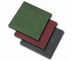 Pryžová podložka červená 50x50 cm, 25 mm ORION - 1