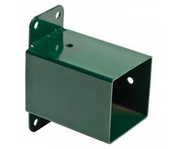 KBT Rohová koncovka na hojdačky 90x90 zelená