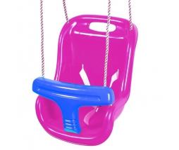 JF Hojdačka - BABY swing purpur./modrá - 1