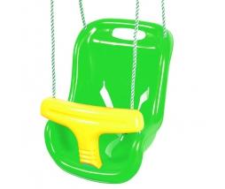 JF Hojdačka - BABY swing limetkovo/žltá - 1