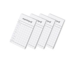 Myminigolf zápisník výsledkov