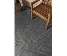 MH Gumová dlažba - Alpha Tile, 30x30 cm, grey
