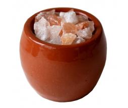 Keramická myska so soľou