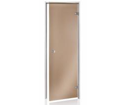 Dvere do parnej sauny BASIC 3R, bronz,  686x2090 m