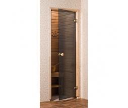 Saunové dvere 7x19 4R, grey,  686x1890 mm