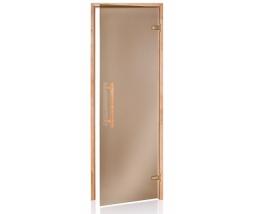 Dvere do sauny PREMIUM 3R, bronz,  686x1990 mm