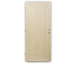 Dvere vstupné plné