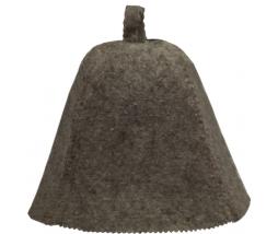 VITAU klobúk do sauny šedá - vlna mix