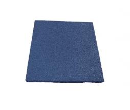Pryžová podložka modrá 50x50 cm, 25 mm