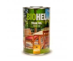 BIOHEL - Teakový olej - 1L