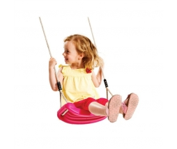 KBT Hojdačka Blowmoulded  - swing seat PINK