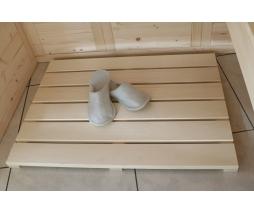 Podlahový rošt do sauny typ B - 800x600