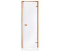 Saunové dvere 7x20 4R, clear,  686x1990 mm