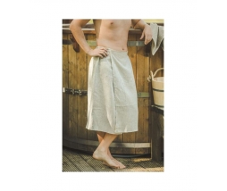 Kilt do sauny 100% ľan, 75x145 pánsky