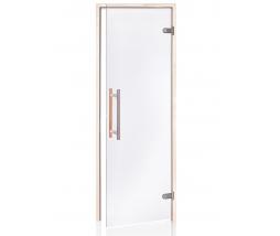 Saunové dvere 7x19 4R, clear,
