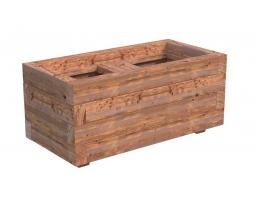 drevený kvetináč LILI 2