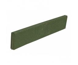 Obrubník  980x200x50 mm, zelená - pryž